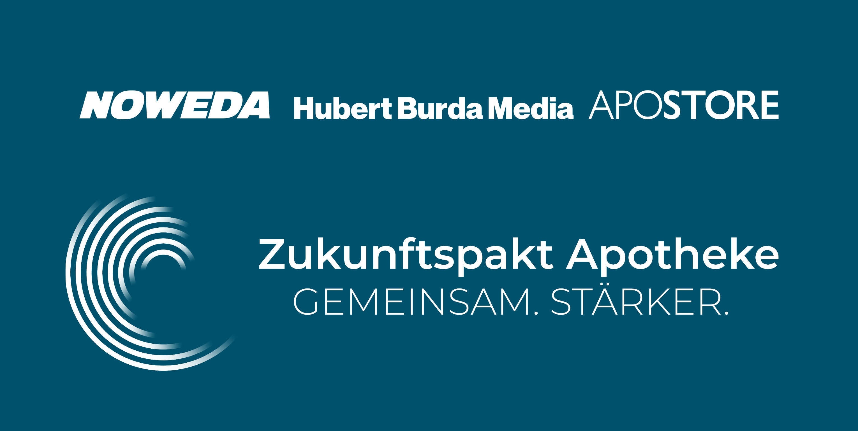 2019 09 24 Pressemitteilung Zukunftspakt Apotheke Noweda Hubert Burda Media Apostore Digitale Apotheke Header Image