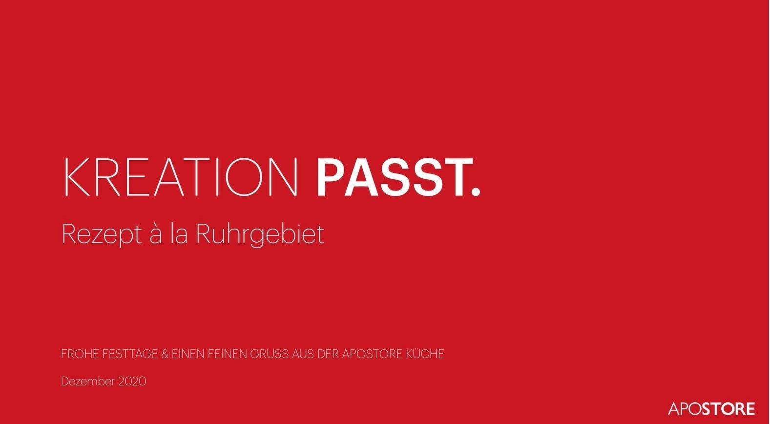 202012 Apostore Xmas Trailer Rezept Ruhrgebiet
