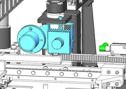 2021 05 Apostore 3 D Druck LED Beleuchtung LAM Kommmissionierautomat 1