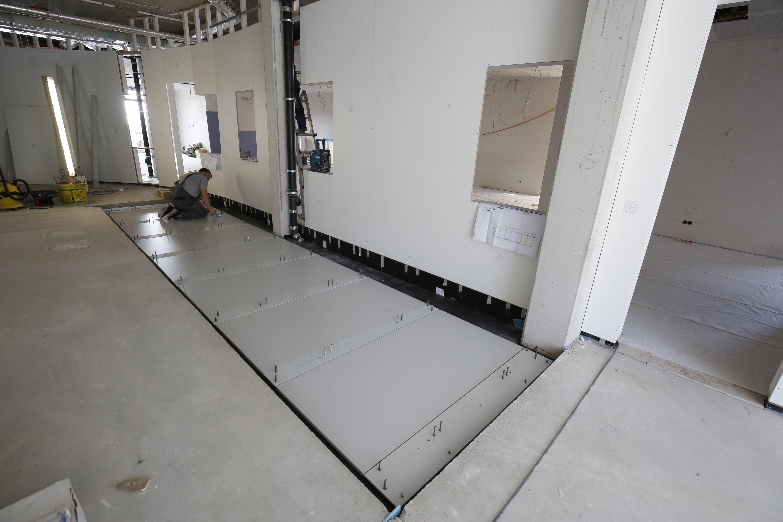 Apostore Kommissionierautomat Apotheke Overwiening Aufbau Boden