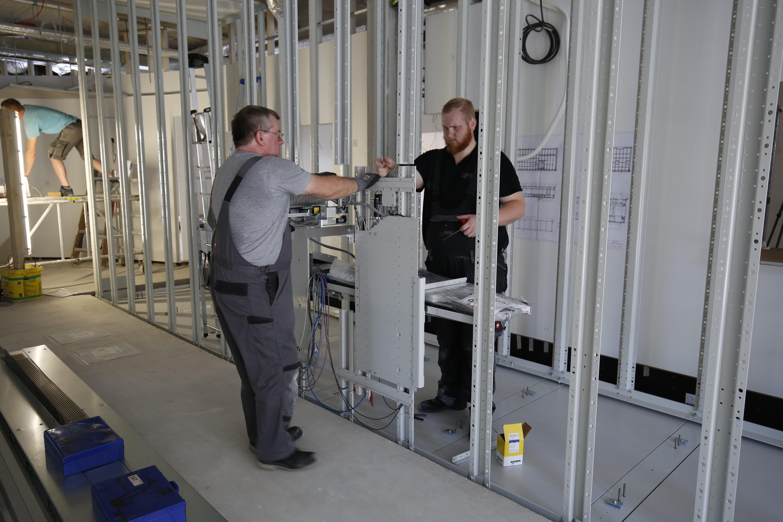Apostore Kommissionierautomat Apotheke Overwiening Aufbau