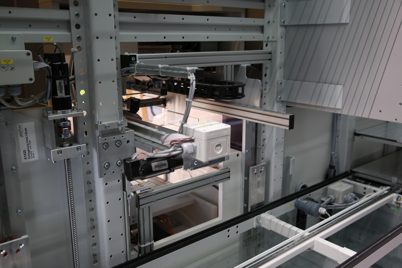 Apostore Kommissionierautomat Apotheke Overwiening Technik