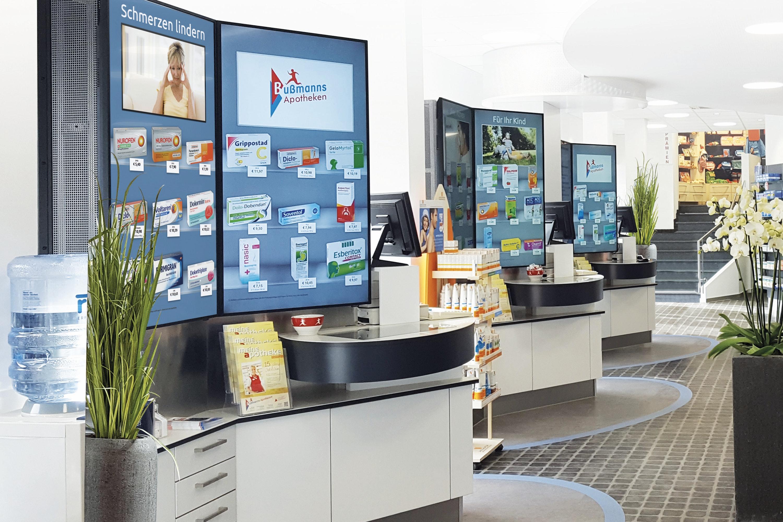 Apostore Digitale Loesungen Screens Freiwahl bussmanns park apotheke