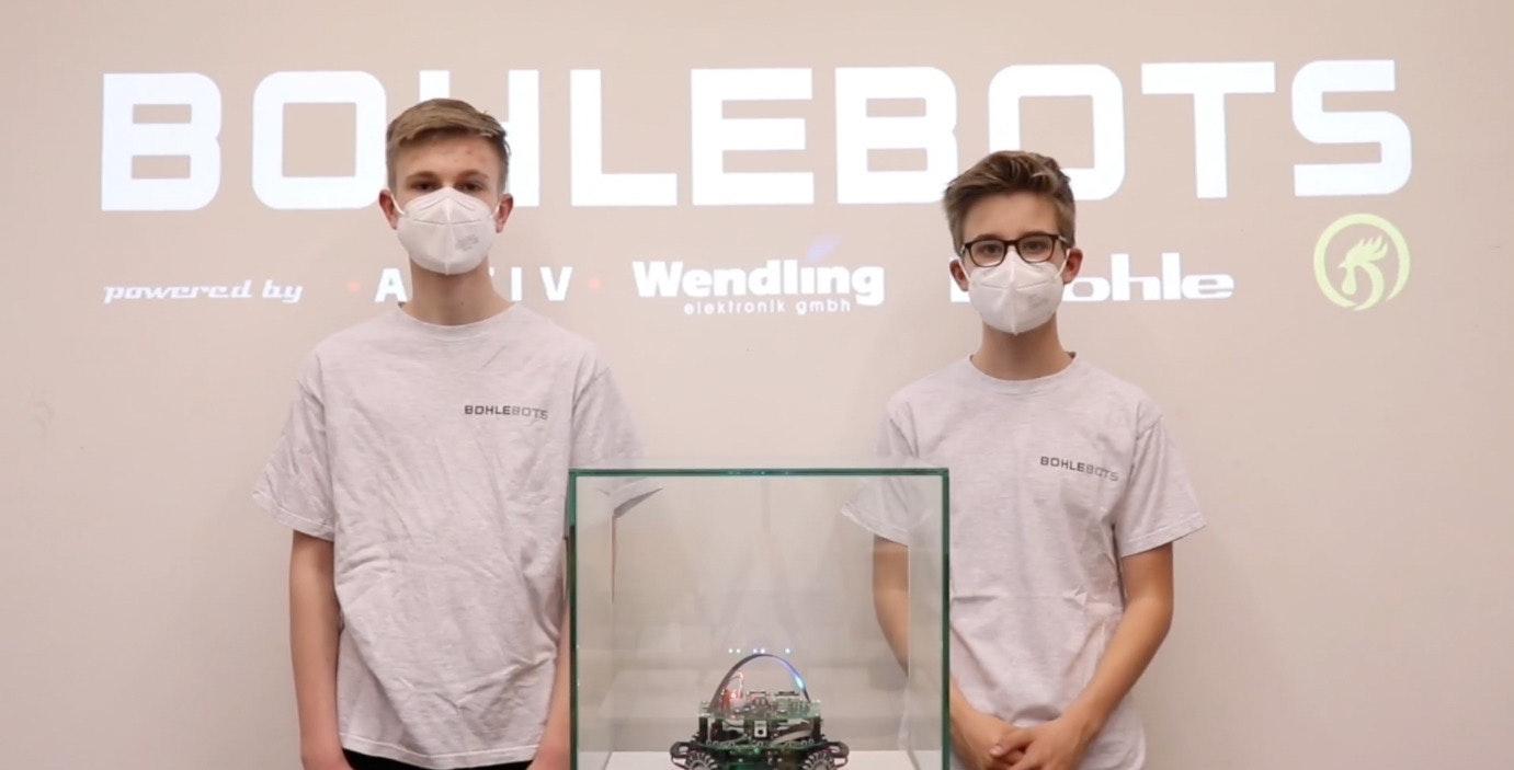 Bohlebots Deutscher Meister 2021 / Apostore Sponsor-Partner
