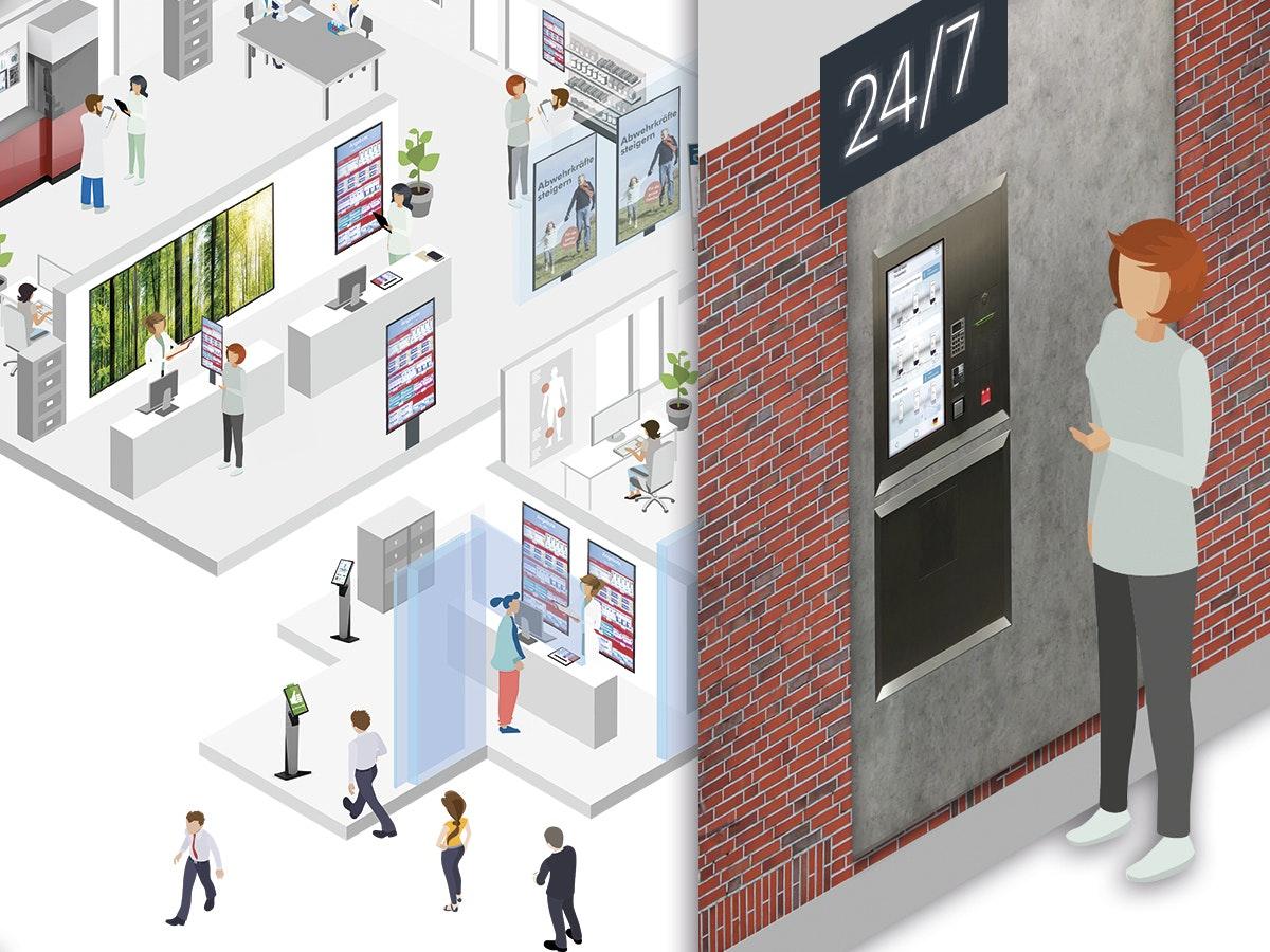Apostore Digitale Loesungen Customer Journey 27 7 Terminal